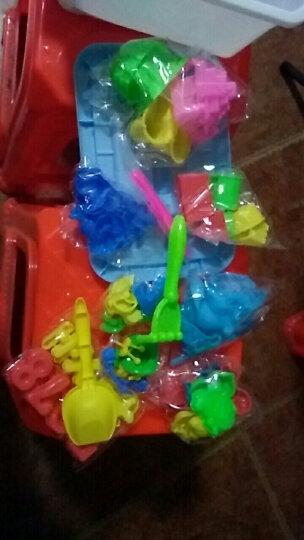 魔法(MOFA)太空玩具沙套装月亮沙超轻粘土橡皮泥彩泥火星沙儿童男孩女孩黏土沙子气垫沙盘 紫色8斤装+收纳盒+大沙盘+78个模具 晒单图