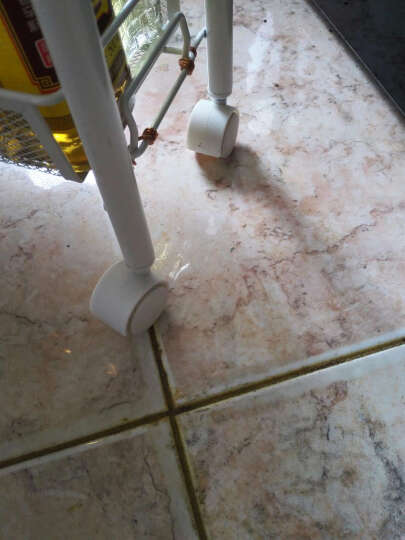 心家宜 铁艺置物架 浴室厨房缝隙收纳层架 可移动夹缝收纳层架GX_5420W 晒单图