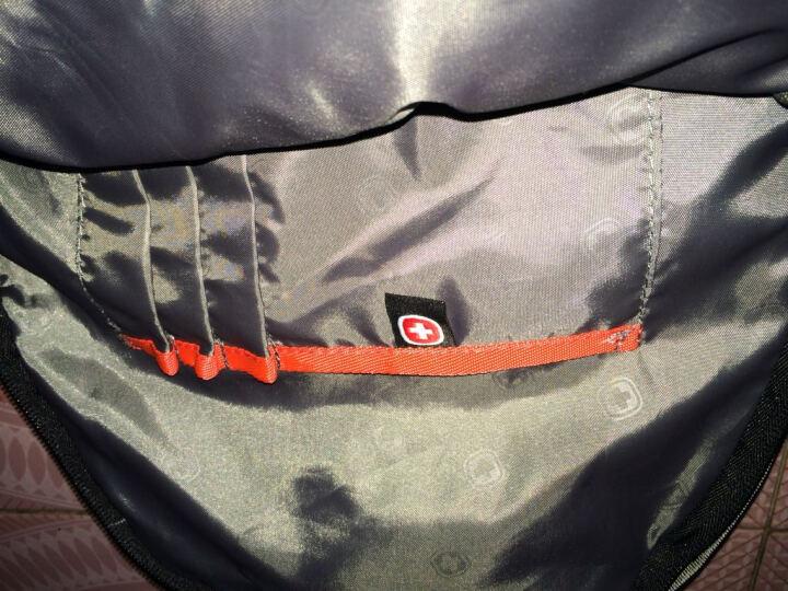 SWISSGEAR时尚休闲双肩包 14.6英寸笔记本双肩电脑包 男女户外旅行包背包 新款书包 SA-9838绿色 晒单图