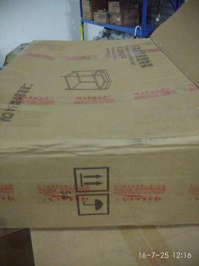 千恩千喜(QEQX) 太空铝微波炉置物架 厨房置物架 烤箱架微波炉架 收纳架 支架 层架 三层58cm+四钩+刀筷盒 晒单图