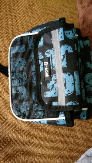 NE&CE BSK单车前横梁包上管包触屏手机包自行车骑行山地车马鞍包配件包 BSOUL蓝(5.7寸) 晒单图