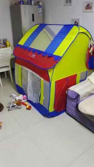 澳乐儿童帐篷安全无味 便携魔术大房子 公主玩具宝宝游戏屋 单个帐篷不含海洋球 晒单图