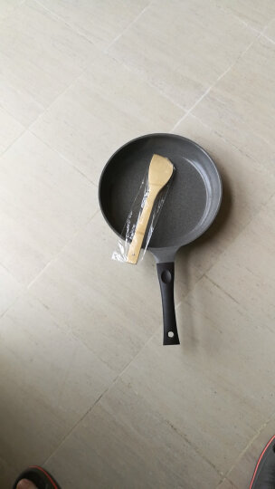 Neoflam 麦饭石+陶瓷不粘煎锅 轻油少烟平底锅 麦饭石不粘锅 燃气灶电磁炉通用 28CM(3至6人适用) 晒单图