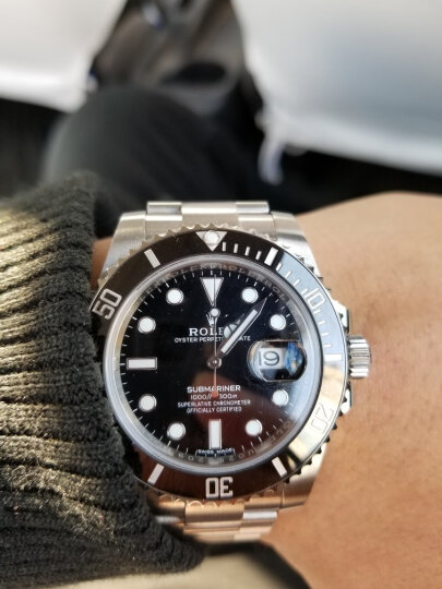 【二手99新】未使用劳力士116610LN-97200 潜航者型系列 黑盘男表二手手表 专柜难求 黑色 晒单图