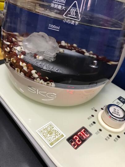 SKG 养生壶多功能加厚硼硅玻璃煮茶壶全自动煎药壶1.8L保温电水壶煮茶器8152 升级浅米色 晒单图
