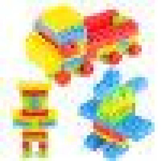 育儿宝 积木玩具儿童拼装拼插大块颗粒塑料1-2-3-6岁小孩宝宝幼儿园益智早教启蒙玩具 400块+收纳盒+组装说明书 晒单图