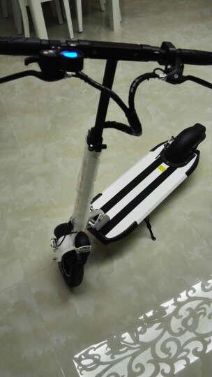 升特shengte电动滑板车 可折叠迷你电动车 成人锂电便携城市代步车代驾车 18.2AH 续航45-55km 富士白 晒单图