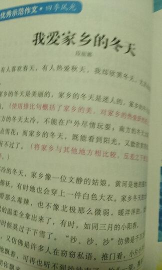 小学生同步作文4年级 黄冈作文 班主任推荐作文书素材辅导四年级9-10岁适用作文大全 晒单图
