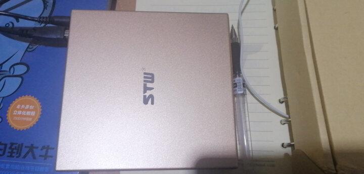 三鑫天威(STW)外置光驱外接usb笔记本电脑通用外接CD刻录机DVD移动光驱 8033土豪金外置CD刻录机 晒单图