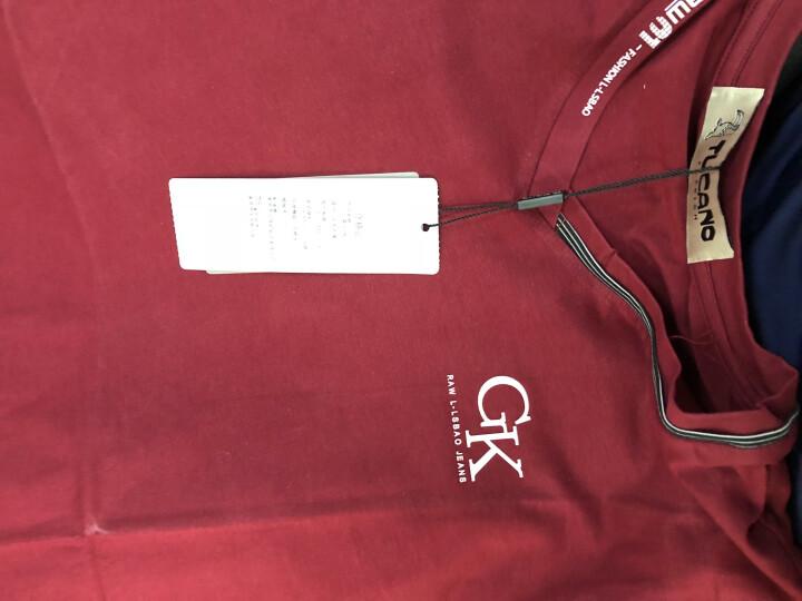 TUCANO T恤男 2019春季男装新款休闲上衣纯棉衣服长袖t恤男 白色丨GK长袖 180/XL 晒单图