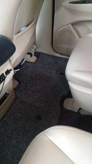 车丽友 定制全包围丝圈七座汽车脚垫 本田奥德赛长安CX70宋MAX丰田汉兰达欧蓝德大众途昂福特锐界7座脚垫 晒单图
