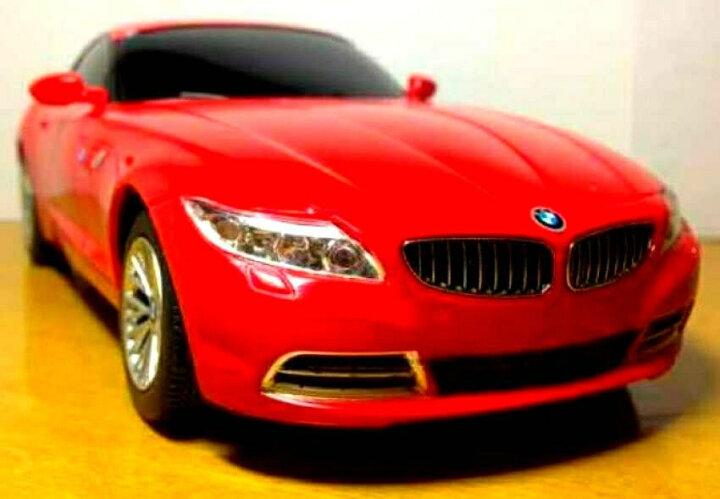 RASTAR星辉 遥控车 1:24宝马Z4遥控汽车赛车模型男孩儿童玩具车六一儿童节礼物 红色 晒单图