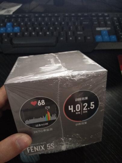 佳明(GARMIN)fenix5S飞耐时5S中文普通版GPS多功能北斗气压高度计登山跑步光学心率智能通知游泳户外飞5s 晒单图