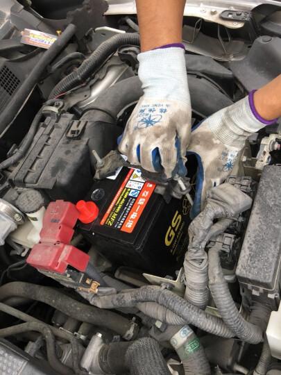 GS 电池 统一电池 汽车电瓶蓄电池12v 以旧换新上门安装 干荷180G51-MF常州小松挖掘机 晒单图