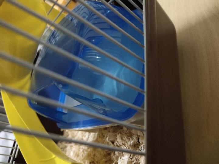 宠尚天(Jonsanty) 仓鼠笼子仓鼠笼别墅仓鼠窝仓鼠用品套餐仓鼠玩具双层仓鼠小城堡 大城堡仓鼠笼-咖啡色 晒单图