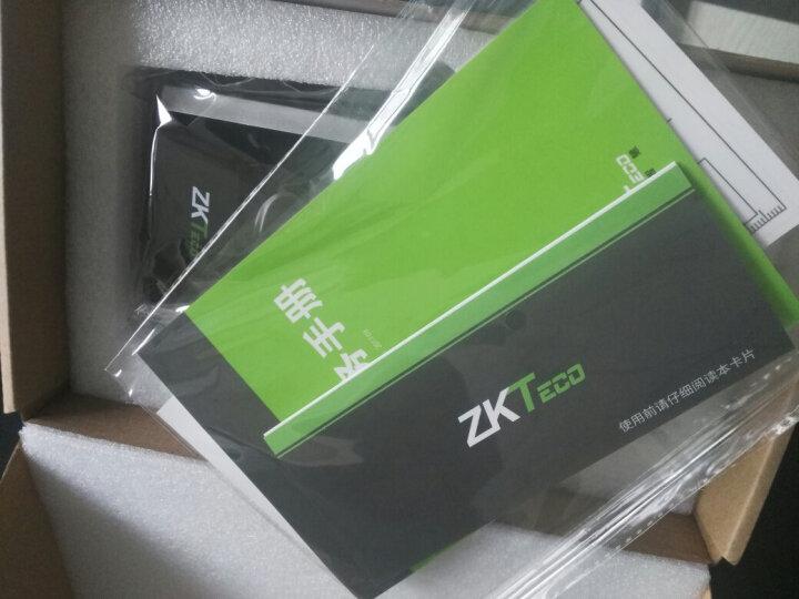 [品牌直营]中控智慧(ZKTeco)F7PLUS 指纹门禁机考勤一体机门禁系统铁门打卡签到器玻璃门 F7 PLUS 标准配置+买就送运费险 晒单图