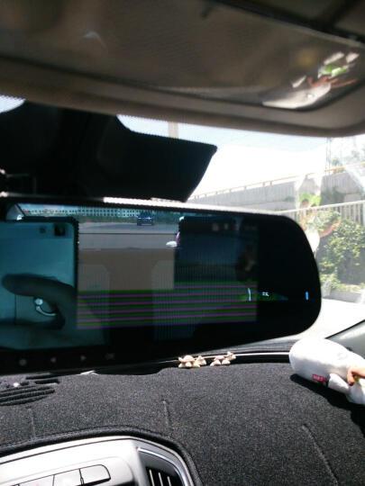 莱琥 后视镜行车记录仪单/双镜头多功能一体机大广角高清1080P 倒车可视夜视行车记录仪 日产轩逸 骊威 骐达 逍客 天籁 阳光尼桑新奇骏 双镜头(带倒车影像)32G+停车监控线 晒单图