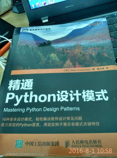 深入理解 Flask+精通Python设计模式 Web开发框架编程教程书籍预售 晒单图