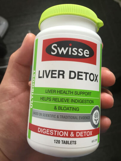 【买两瓶减5元】澳洲进口 Swisse 奶蓟草养肝护肝解酒解毒片 改善脂肪肝120片 晒单图