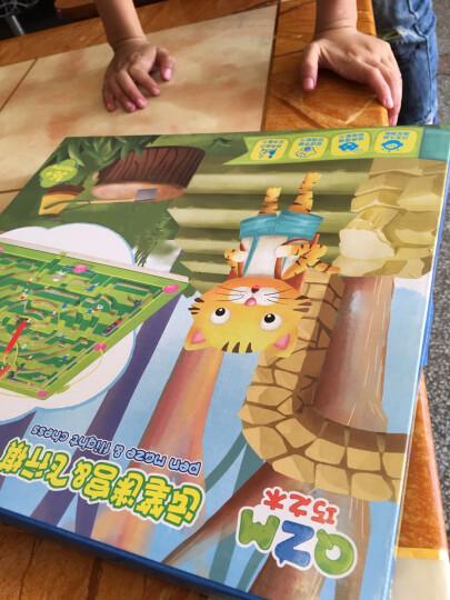 早教启蒙益智玩具木制磁性运笔迷宫飞行棋宝宝智力开发桌面亲子互动游戏儿童幼儿园礼物 大象迷宫+飞行棋 晒单图