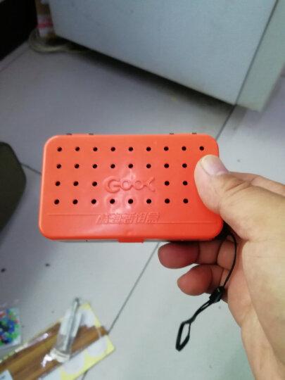 古山(GUZON) 加厚便携型 红虫盒蚯蚓盒 精致活饵盒双层设计透气保鲜 小号 晒单图