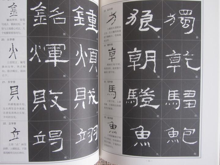 隶书·《礼器碑》练习指导 晒单图