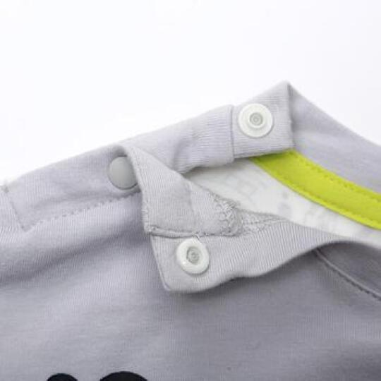 海绵宝宝 童装 男女童上衣 男女童秋款针织长袖T恤卫衣 白色 90 晒单图