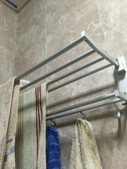 卡希亚 太空铝毛巾架浴巾架浴室卫浴五金挂件套装 超值 加厚浴巾架单品 晒单图