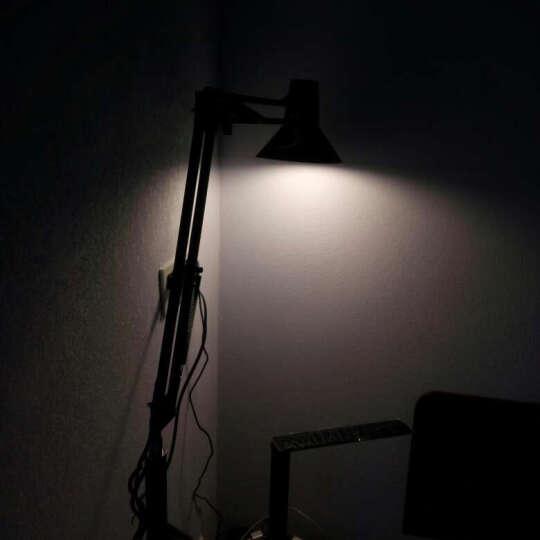 道远亮眼睛 LED落地灯 5W白光 客厅卧室落地台灯现代简约书房工作钢琴麻将灯ML626黑色 晒单图