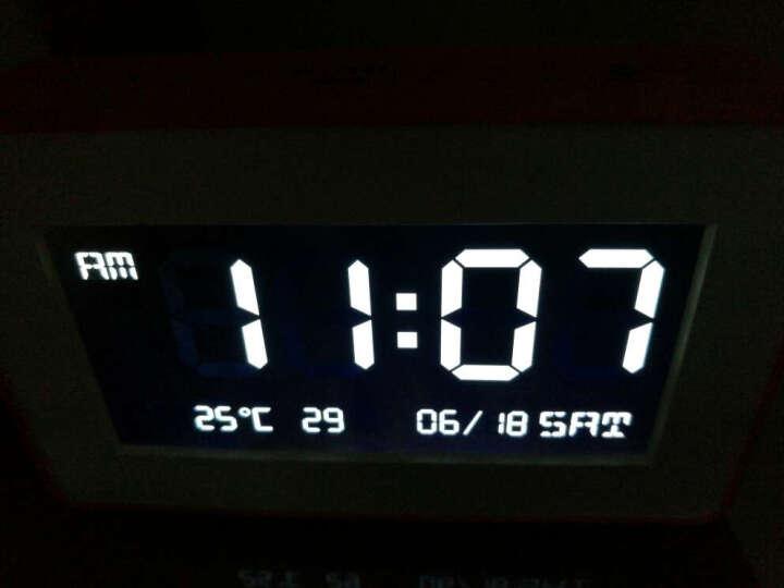 小小鸟(ILITTLE)一拖二无线门铃家用办公用远距离遥控门铃夜灯汽车屏闹钟音乐播放器门铃 橙黑 晒单图