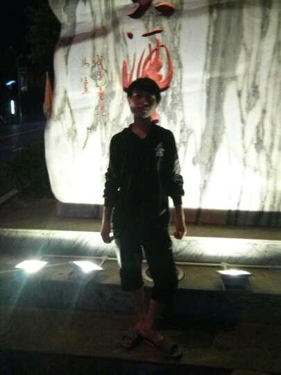 凡萨诺 秋冬新款个性夜光鬼步舞男女学生鬼舞步嘻哈骷髅头卫衣荧光发光外套连帽短袖卫衣套装男 龙纹套装 L 晒单图