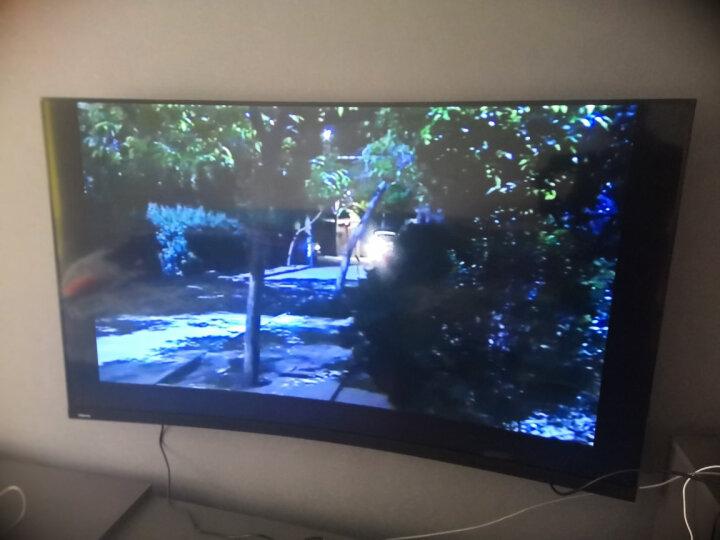 东芝(TOSHIBA) 65英寸智慧全面屏曲面4K超高清彩电 AI智能网络液晶曲屏教育电视机 晒单图