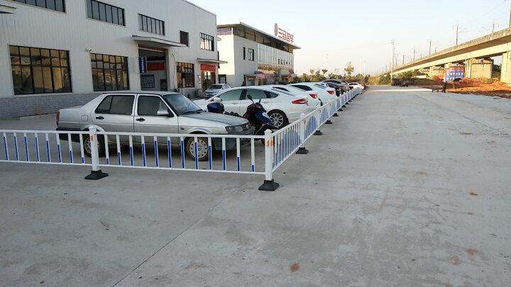 九牛道路护栏公路市政隔离栏杆锌钢护栏围栏交通设施防撞活动护栏 90cm高护栏 晒单图