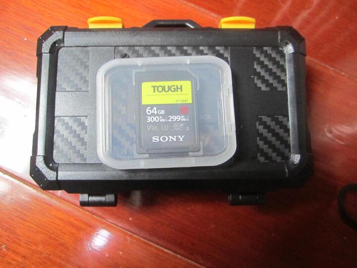 索尼(SONY) SD卡高速存储卡 闪存卡尼康佳能单反索尼微单相机内存卡 64G 300M/s UHS-II 高速 晒单图