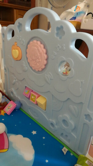 澳贝(AUBY)婴儿童游戏围栏爬行学步安全护栏室内户外游乐场宇宙星空围栏12+2新年礼物男孩女孩玩具464324DS 晒单图