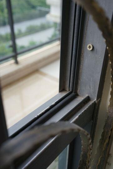 防盗门密封条隔音条自粘型门框封门窗门缝防风保温挡风防撞条 6米装 黑色 14mm*12mm特大D-6米 晒单图