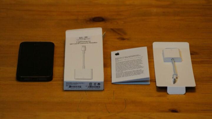 颖果 苹果手机读卡器otg iphone内存扩展扩容 ipad外置转接数据线单反sd卡tf 白色(micro usb2.0接口) 晒单图
