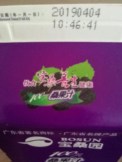 【199-100券】【4-5月生产】宝桑园100%桑果汁468ml*4盒桑葚汁 NFC果汁 纯果汁 晒单图