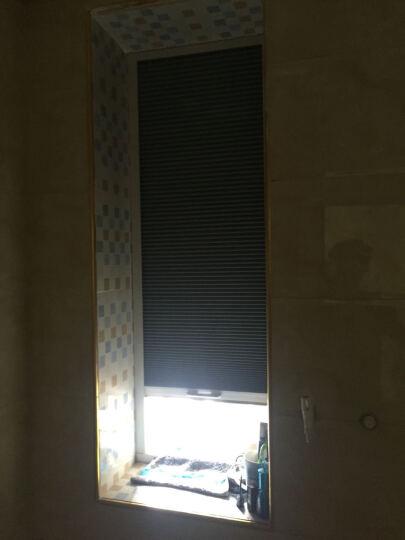 CR9 蜂巢帘阳光房遮阳天棚帘 卧室阳台全遮光拉帘天窗百折窗帘定制 全遮光杏黄GP-TC02-1008 晒单图