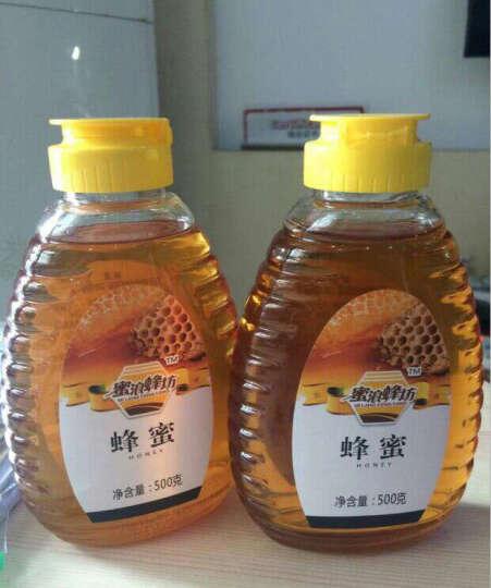 蜜浪蜂坊(MI LANG FENG FANG) 蜜浪蜂坊蜂蜜500g 出口品质 百花蜂蜜 晒单图