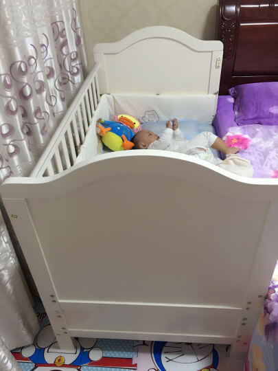 蒂爱 儿童床冰丝凉席 婴儿床亚麻草凉席套装 宝宝冰丝草席 夏天草席凉席 菲尼克斯(含枕头) 110*60 晒单图