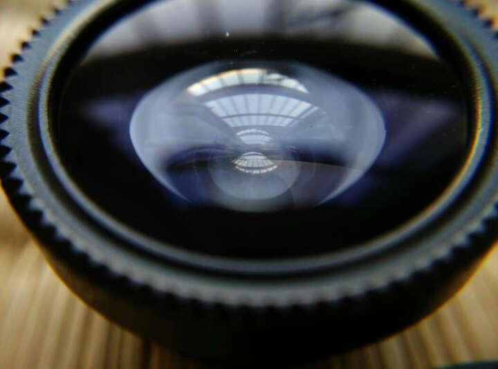 猎奇(LIEQI) 手机镜头 广角+鱼眼+微距套装 拍照神器 手机外置镜头 单反手机镜头 手机自拍镜头 通用型 红色 晒单图