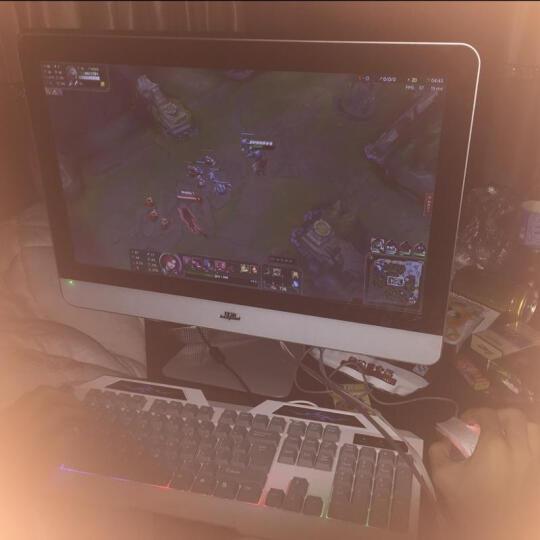 狄派 一体机电脑intel酷睿i5 i7 办公家用娱乐游戏宾馆台式机电脑 酷睿i3+4G内存+60G固态硬盘 21.5 英寸 晒单图
