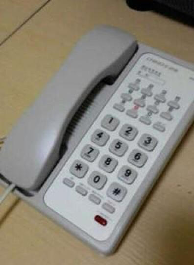 中诺 B009 酒店 宾馆 客房专用电话机 商务座机 壁挂电话机 分机 有绳电话机 白色 晒单图