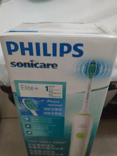 飞利浦(PHILIPS) 电动牙刷头 标准3支装 HX6013/05 适配HX6730 HX6761 HX6511(新包装型号HX6013/63随机发货) 晒单图
