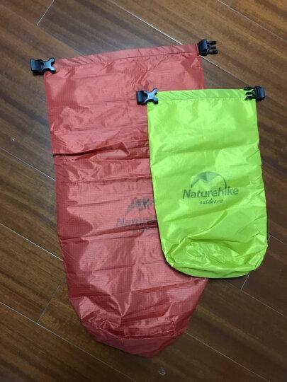 NH 户外15-25升防水袋 游泳包 户外多功能漂流袋 防水收纳袋 红色 25L 晒单图