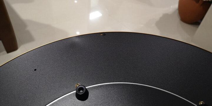 华帝(VATTI) 饭菜保温板热菜板保温板圆形旋转暖菜宝保温垫加热板餐桌热菜器 黑色 圆形100CM旋转 晒单图