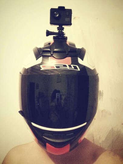 LS2摩托车机车冬季全盔跑车赛车街车个性酷全覆式头盔男四季FF352 哑黑黄水晶 L 晒单图