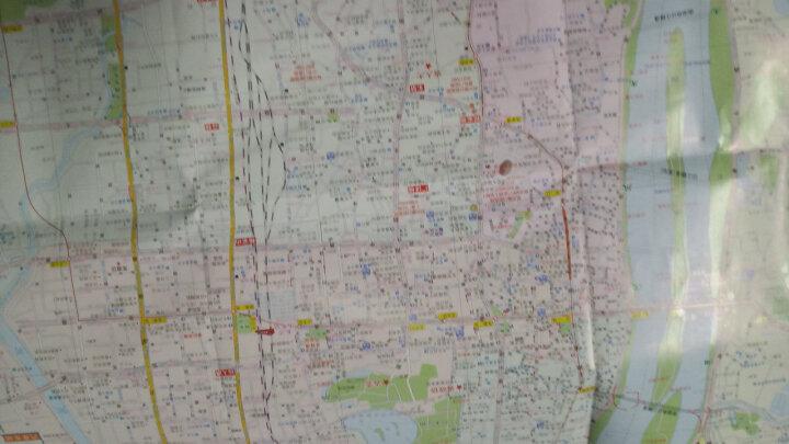 2018年 湖南省长沙市交通旅游图 长沙地图 城区地图 晒单图