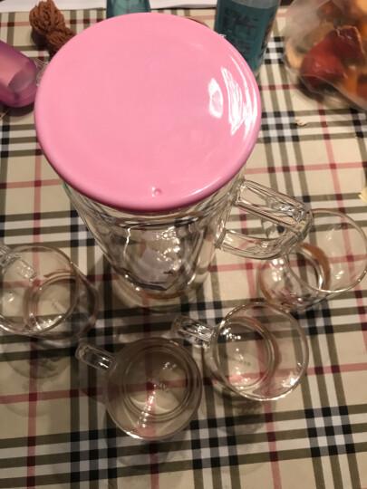 多样屋TAYOHYA杯具套装耐热玻璃水具组一壶四杯礼盒装水具组 晒单图